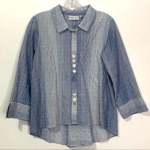 Habitat Cotton Button Up Shirt XS